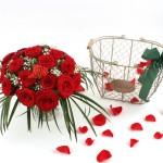 Blumenbutler_Der Honey Rosenkorb