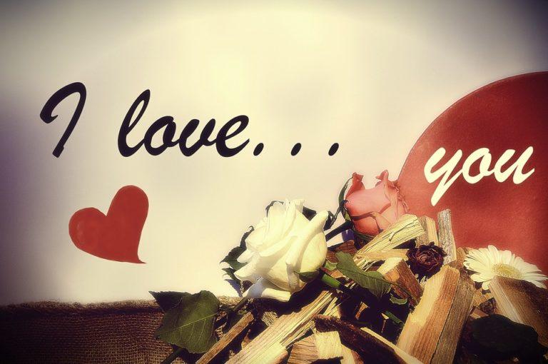 Liebesbrief Vorlage: Ich liebe dich von ganzem Herzen