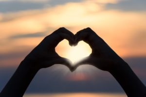 Herz Hände